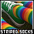Striped socks: