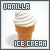 Vanilla Ice Cream: