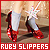Wizard of Oz : Dorothy's Ruby Slippers: