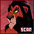 Scar 'The Lion King':