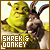 Shrek and Donkey 'Shrek':