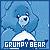 Carebear: Grumpy Bear: