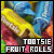 Tootsie Fruit Rolls: