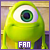 Mike Wazowski 'Monsters Inc':