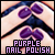 Nail Polish : Purple: