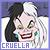 Cruella de Vil '101 Dalmations':